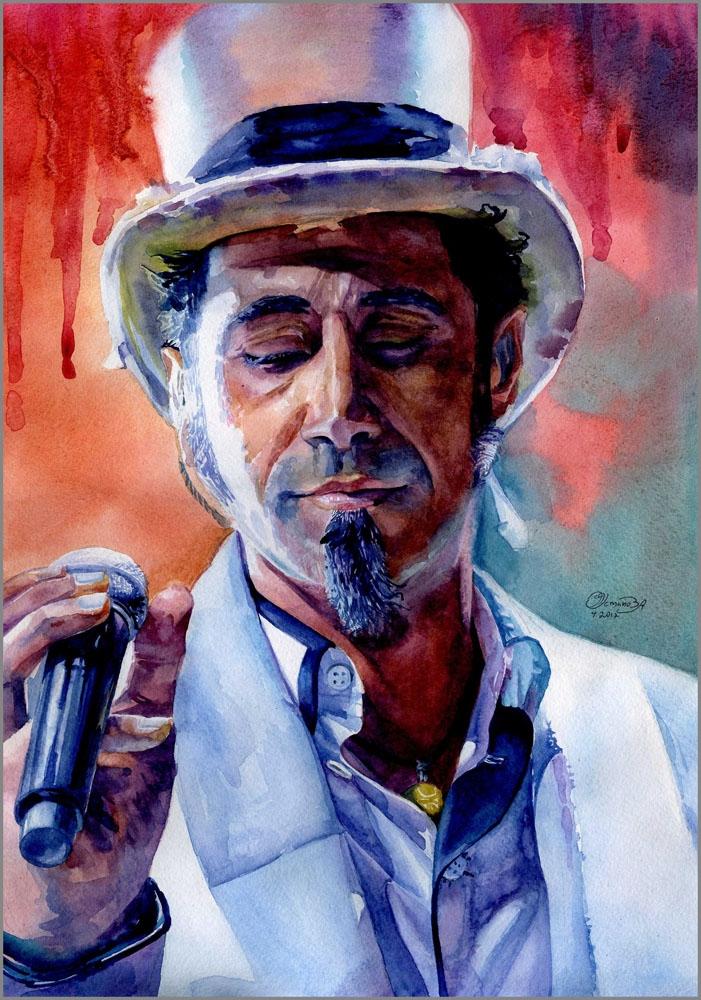 Serj Tankian by chi-chi-ku